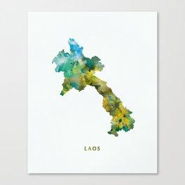 Laos Canvas Print