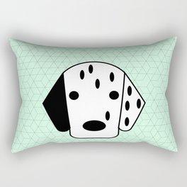 Pop Dog Dalmatian Rectangular Pillow