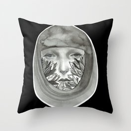 Woman (Free yourself) Throw Pillow