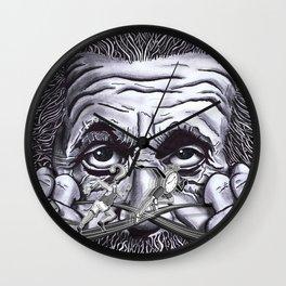 Einstein: The Patent Clerk Wall Clock