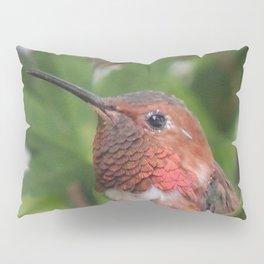 Hummingbird in the Japanese Maple Pillow Sham