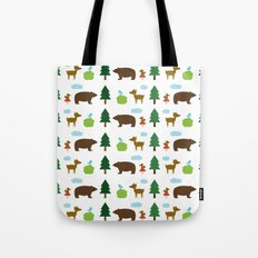 The Essential Patterns of Childhood - Forest Tote Bag