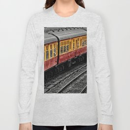 Waiting For A Train Long Sleeve T-shirt