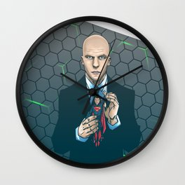 Lex - Dawn of Justice  Wall Clock