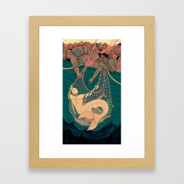 Catch and Release Framed Art Print