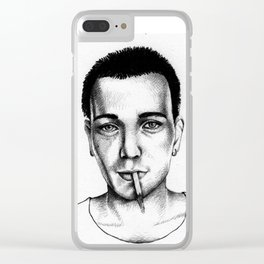 Trainspotting Clear iPhone Case