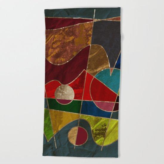 Abstract #334 Beach Towel