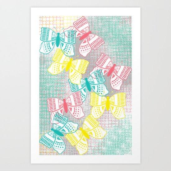 Butterflies in Heaven Art Print