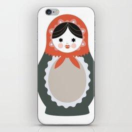 Matrioska-004 iPhone Skin