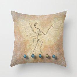 Archaeopteryx Throw Pillow