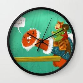 Im such a Dragon Wall Clock