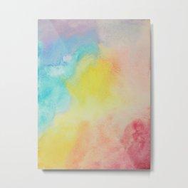 Flowing (water) Color Metal Print