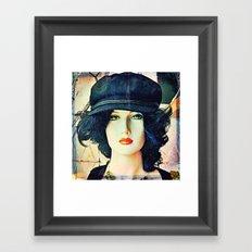 Get The Cool Chapeau Framed Art Print