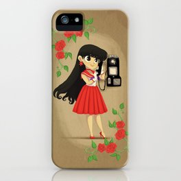 Retro Sailor Mars iPhone Case