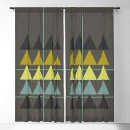 disguise forest || spring neon Blackout Curtain