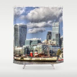 The Waverley and London Shower Curtain