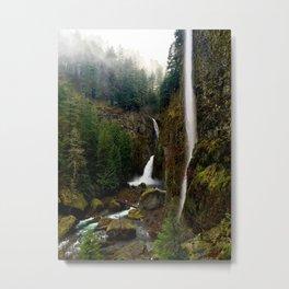 Wahclella Falls, Oregon Metal Print