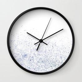 blue dusts#3 Wall Clock