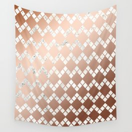 Copper & Marble 03 Wall Tapestry