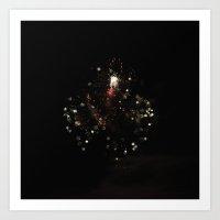 Firework 0696 Art Print
