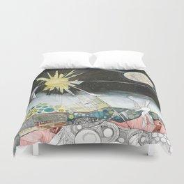 Exploration: The Sun Duvet Cover