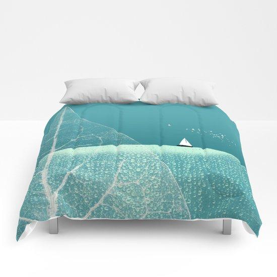 Ocean Wonderland II Comforters