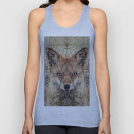 Fox II Unisex Tank Top