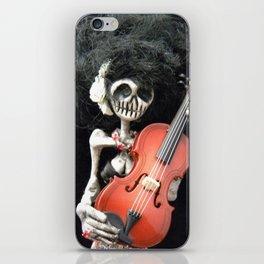 Day of the Dead: La Violinista iPhone Skin