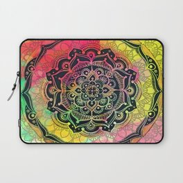 Rainbow Mandala Laptop Sleeve