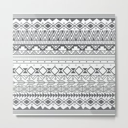 Aztec pattern 004 Metal Print