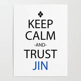 Anime Keep Calm Inspired Shirt Poster
