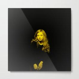 Imogen Puts - Celebrity (Florescent Color Technique) Metal Print