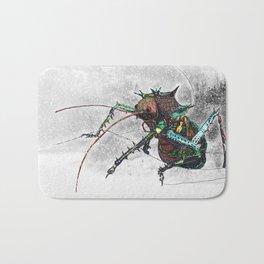 Frozen Beetle Bath Mat
