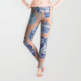 Chinoiserie Ginger Jar Collection No. 1 Leggings