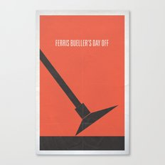 Ferris Bueller's Day Off minimalist poster Canvas Print