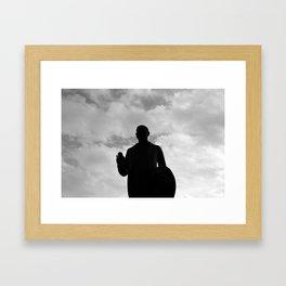 Statue 01 Framed Art Print