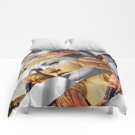 """Botticelli's """"Madonna of the Magnificat"""" & Grace Kelly Comforters"""