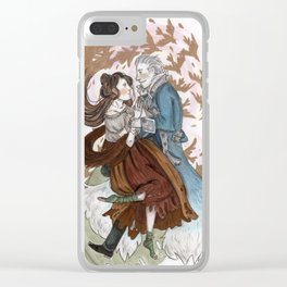 The Silver Wolf Clear iPhone Case