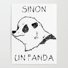 Sinon, un panda (1) Poster