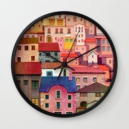 a city Wall Clock