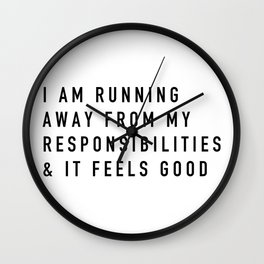 Responsibilities Wall Clock