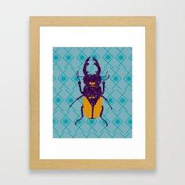 Odontolabis Delesserti Framed Art Print