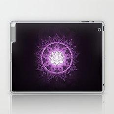 Purple Lotus Flower Laptop & iPad Skin