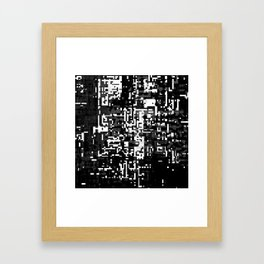 now and then. det. 1a Framed Art Print