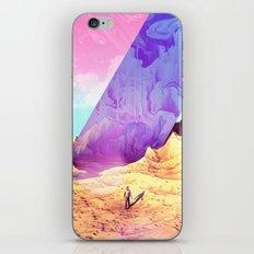 Oblique Plane iPhone & iPod Skin