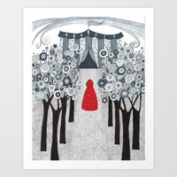 Joining the Circus Art Print