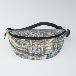 Painted Vienna 3 Fanny Pack