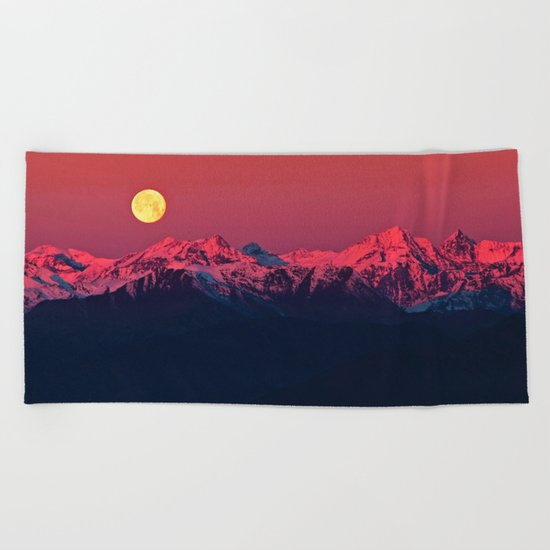 In The End #society6 #prints Beach Towel