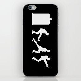 The Tardis of Silly Walks iPhone Skin