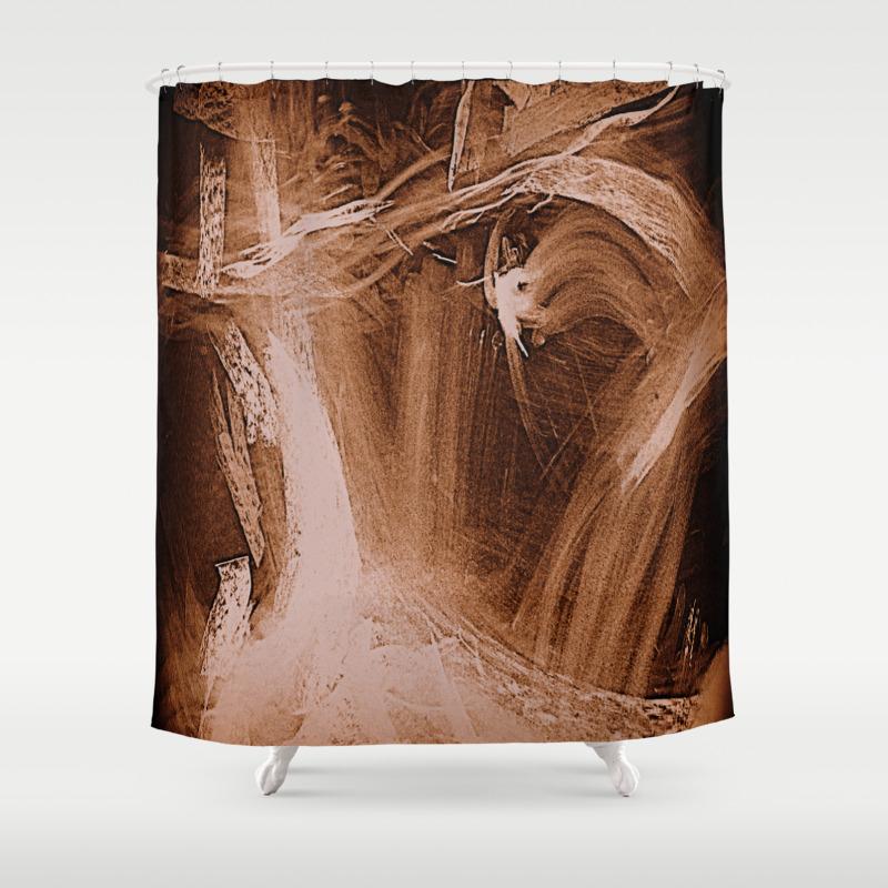 Attic Shower Curtain